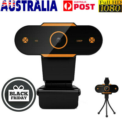 AU18.99 • Buy HD Gaming Webcam 1080P With Microphone USB 2.0 60 Fps PC Streaming Web Camera AU