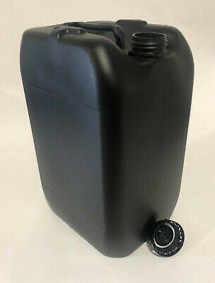 £8.99 • Buy New 25 Litre Plastic Jerry Can Water Container Drum Keg With Lid Food Grade