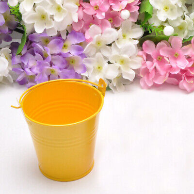 £5.62 • Buy 6pcs Mini Metal Bucket Candy Party Favor Buckets Favor Pails For Party