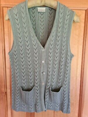£5.60 • Buy Cotswold Collection Waistcoat, Teal, Size M, Used