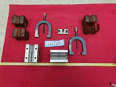 £50 • Buy Pair Of Vintage Engineers Vee V Blocks In Very Good Used Condition With Clamps