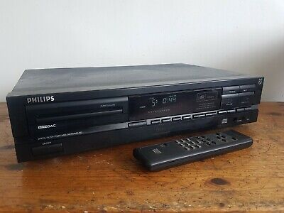 £50 • Buy Phillips CD610ii Vintage Hi-Fi CD Compact Disc Player Separate. With Remote.