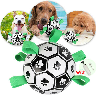 £14.78 • Buy Dog Toy Lovely Paw Football Toys Puppy Dogs Outdoor Training Pet Bite Chew Ball