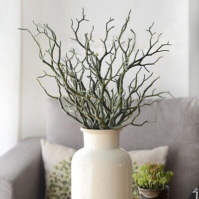 £4.08 • Buy Artificial Dried Tree Branch Twig Plant Craft Wedding Party Home Decoration 35cm