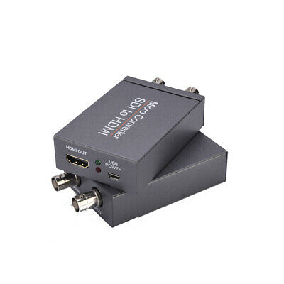 £32.50 • Buy Video 3G Micro Converter Portable SDI To HDMI 2.970 Gbit/s Adapter Fit Cam