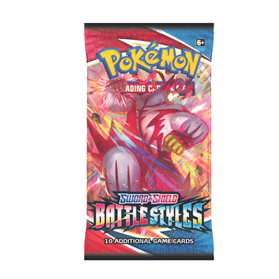$3.95 • Buy Pokemon Battle Styles Booster Pack [wrapper Art May Vary]