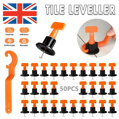 £19.99 • Buy 1000 X Tile Leveling Spacer System Tool Clips Wedges Flooring Lippage Plier