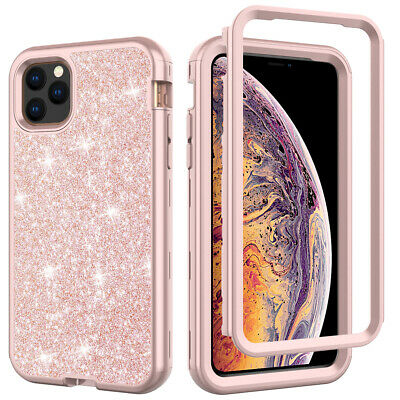 AU13.58 • Buy For IPhone 11 Pro Max XR 8 7 Plus Bling Glitter Girl Women Cute Phone Case Cover