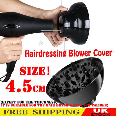 £4.49 • Buy Professional Hair Dryer Diffuser Salon Curly Tool Blowing Head Attachment UK.