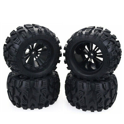 £25.88 • Buy 1/10 RC Car Monster Truck Wheels Tires For HPI HSP Savage XS TM Flux ZD Racing