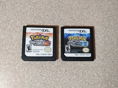 $250 • Buy Nintendo DS Pokemon Black 2 & White Version 2 Games Only AUTHENTIC & TESTED