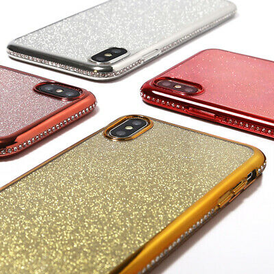 AU8.49 • Buy Glitter Diamond Shockproof Case Cover For IPhone 12 11 Pro Max 6S 7 8 Plus XS XR