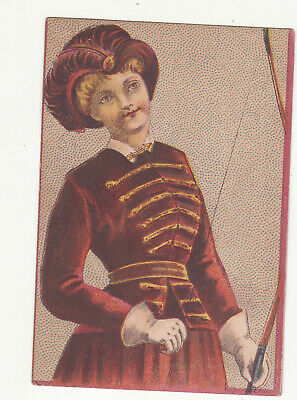 £1.43 • Buy C A Best Second-Hand & Antique Furniture Washington DC Lady Bow Vict Card 1880s