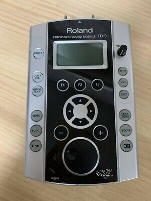 AU314.23 • Buy Roland TD9 Drum Brain Module Electronic V-Drums Machine Musical Instruments Used