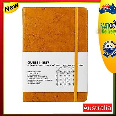 AU25.40 • Buy Classic Dotted Grid Bullet Notebook Journal Dot Hard Cover A5 Premium 100gsm