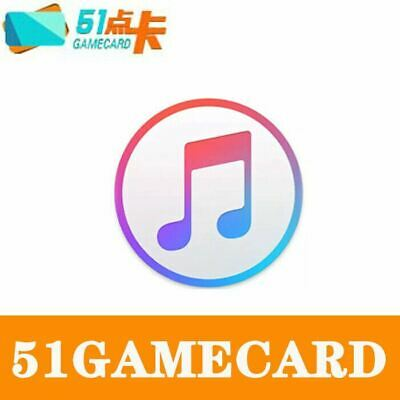 AU13.99 • Buy Chinese ITunes  Gift Card 50RMB Code 澳洲充值中国苹果app Store 余额 Top Up 大陆区礼品卡密