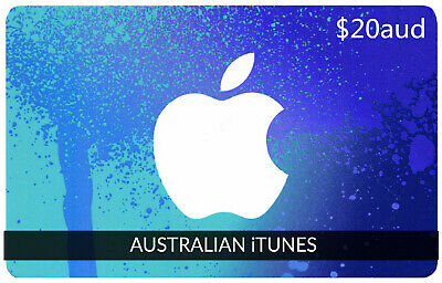 AU22.95 • Buy APP Store ITunes Australian Gift Card A$20AUD  AU Gift Cards (we Ship Fast!)