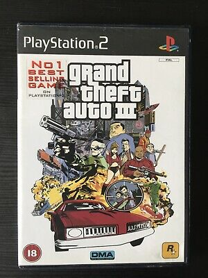 £3.95 • Buy Grand Theft Auto III 3 Sony Playstation 2 Game Complete 2001 PAL Tested PS2