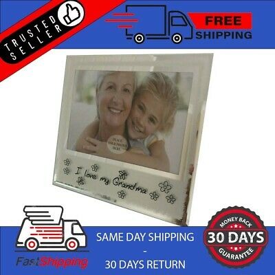 £1.95 • Buy Photo Picture Frame Grandma Birthdays Gift Mothers Day Friend Family Party Decor