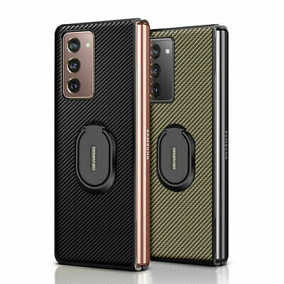 AU15.05 • Buy 1Pc For Samsung Galaxy Z Fold 2 3 5G Luxury Texture Carbon Fiber Case Cover
