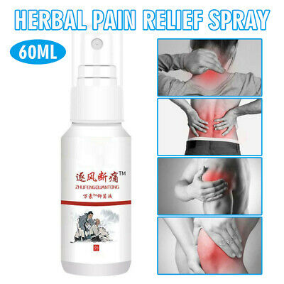£3.28 • Buy Herbal Pain Relief Spray Mist Cervical Muscle Strain Joint Bruises Low Back Legs