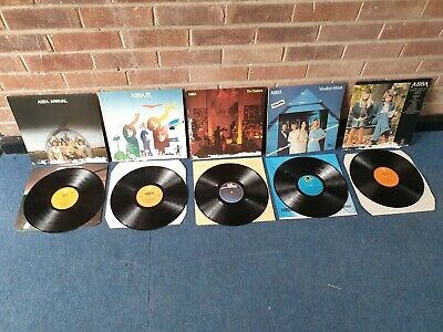 £35 • Buy Abba Lp Collection X 5 See Images For Titles (damaged Outer Sleeves)
