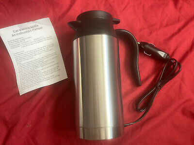£15 • Buy Stainless Steel Electric In-car Kettle - 12v