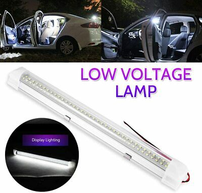 £7.29 • Buy 6000K 12V Low Voltage Tube LED Compartment Light T5 Tube Fluorescent With Switch