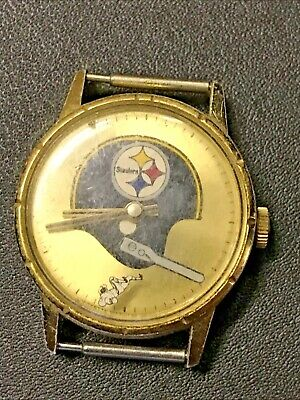 £89.03 • Buy Vintage 1969 Pittsburgh Steelers Gold Tone Mechanical Mens Watch R.g Sell & Co