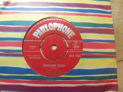 """£3.50 • Buy Jimmy Shand – Whistling Rufus 1958 7"""" Parlophone R 4452"""