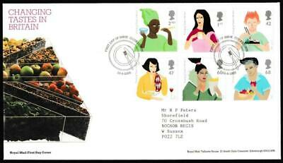£2 • Buy GB. FDC. Changing Tastes In Britain. 2005. Cookstown. Royal Mail