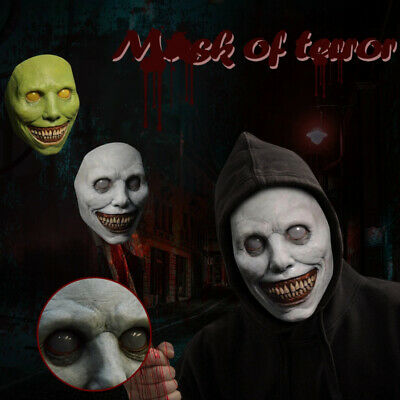 £9.99 • Buy Halloween Headgear Smiling Demons Face Masks Cosplay Scary Costume Party Props