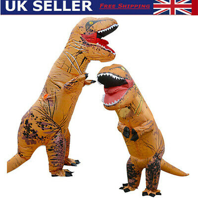 £28.65 • Buy T-REX Dinosaur Inflatable Dino Costume Outfits Suit For Adult Kids Cosplay Party
