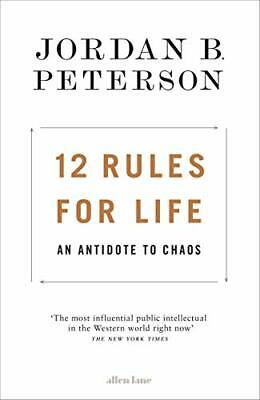 AU15.90 • Buy 12 Rules For Life: An Antidote To Chaos By Jordan B. Peterson | PAPERBACK BOOK