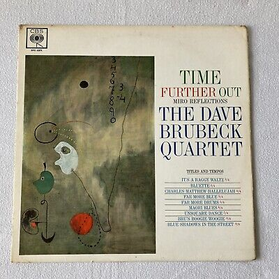 £4.99 • Buy The Dave Brubeck Quartet – Time Further Out- Vinyl- Record- LP Mono Reissue