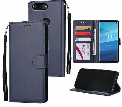 AU10.50 • Buy Oneplus 5T Leather Wallet Case Silky Finish 3 Card 1 Pocket