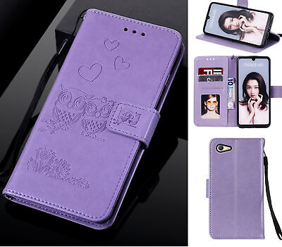 AU10.95 • Buy Oppo A59 F1s Wallet Case Embossed Pu Leather Twin Owl