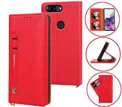 AU12.90 • Buy Oneplus 5T Leather Wallet Case Front Pocket 6 Cards