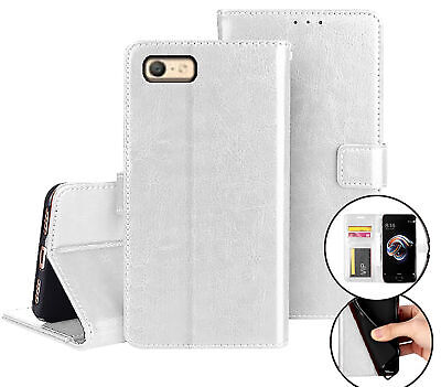 AU12.90 • Buy Oppo A39 A57 Fine Leather Wallet Case Id Cash Compartment