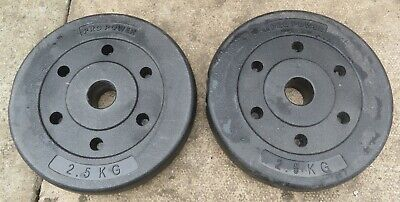 £20 • Buy 2 Pro Power 2.5 KG Weights