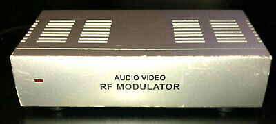 £7.27 • Buy RF Modulator WS-007 Audio Video To Coaxial UNTESTED