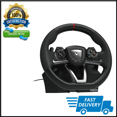 £87.85 • Buy Steering Wheel And Pedal Set Racing Gaming Simulator Driving Real Xbox One X S