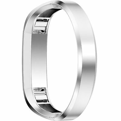 AU26.84 • Buy Silver For Fitbit Alta HR Replacement Metal Band Stainless Bracelet Strap Large