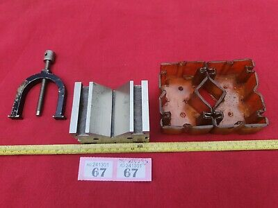 £48 • Buy Specialised Engineers Vee V Block & Clamp In Excellent Condition As Shown
