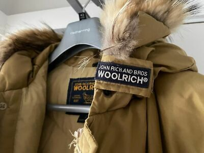 £200 • Buy Woolrich Arctic Parka Down Puffer Coat Jacket - Size Small Unisex Made In USA S