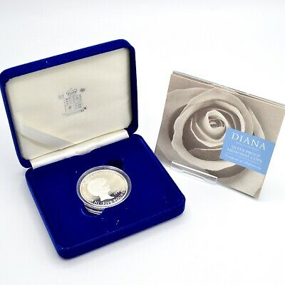 £120 • Buy 1999 Diana Silver Proof Memorial Coin £5 Five Pound Royal Mint Crown Box COA