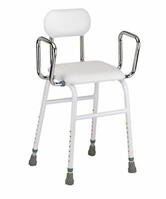 £73.99 • Buy Multi Use Perching Stool - Adjustable Height With Removeable Armrests And Padded