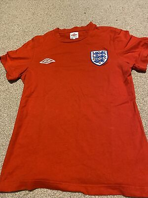 £11.50 • Buy Red England 2010 World Cup Football Shirt Size:S