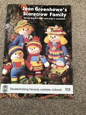 £3.90 • Buy Jean Greenhowe's Scarecrow Family Knitting Book