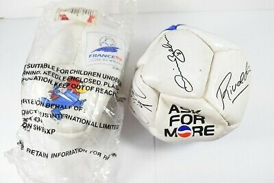 £29.99 • Buy Rare France 98 Mini Football New And Sealed Plus Other!